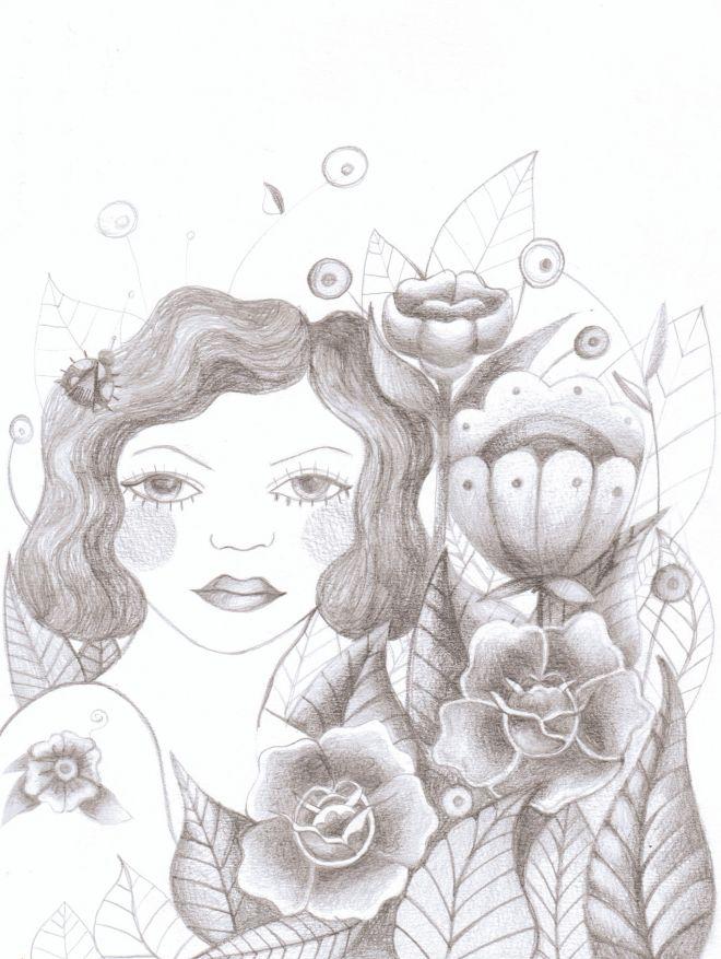 retrato-con-flores